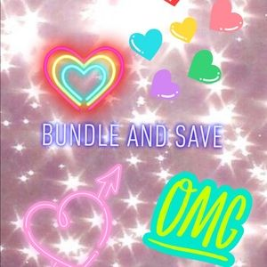 Don't forget to bundle and save 30% off !!!💖💖💖